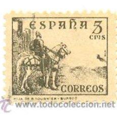 Sellos: 1U-816. SELLO USADO ESPAÑA. EDIFIL Nº 816. CID. Lote 261679180