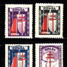 Briefmarken - ESPAÑA 970/73** - AÑO 1943 - PRO TUBERCULOSOS - 43032577