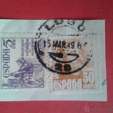 Sellos: HISTORIA POSTAL. MATASELLO FECHADOR. LUGO.. Lote 43103786
