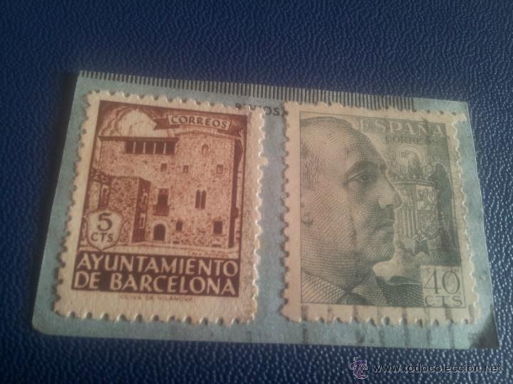 SELLOS FRANCO (Sellos - España - Estado Español - De 1.936 a 1.949 - Usados)