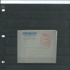 Sellos: AEROGRAMA DEL AÑO 1948 AL 59 CON EL FRANQUEO EN ROJO . Lote 45863003