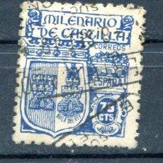 Sellos: EDIFIL 976.75 CTS MILENARIO DE CASTILLA. MATASELLADO. Lote 45975980