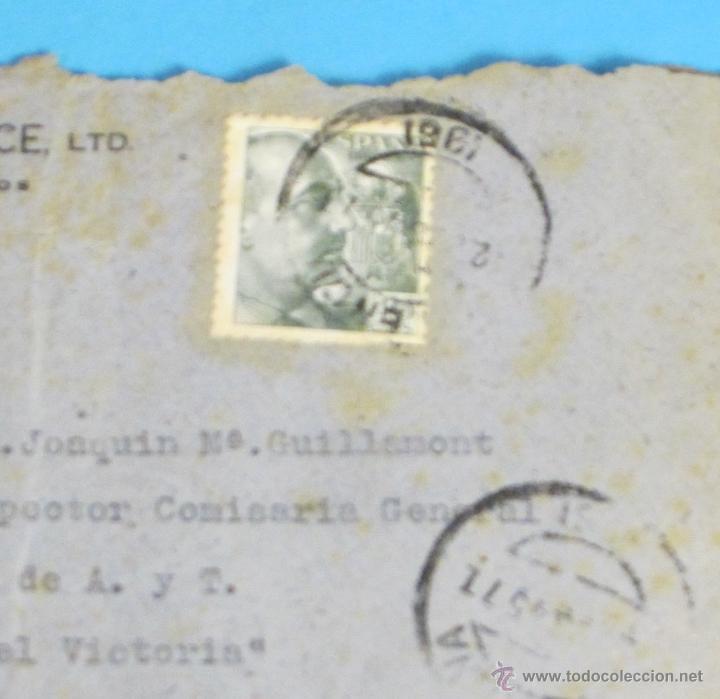 SOBRE CIRCULADO DE VALENCIA A TORTOSA. 1945 (Sellos - España - Estado Español - De 1.936 a 1.949 - Cartas)