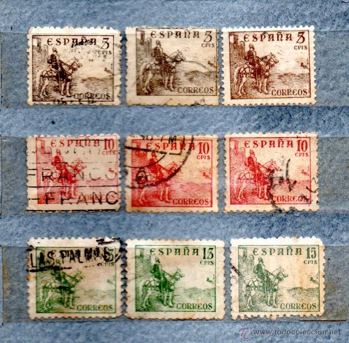 RR-ESPAÑA 1940 EDIFIL 916/917/918/3 (Sellos - España - Estado Español - De 1.936 a 1.949 - Nuevos)