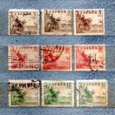 Sellos: RR-ESPAÑA 1940 EDIFIL 916/917/918/3. Lote 47387281