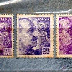 Sellos: RR-ESPAÑA 1940/45 EDIFIL 922/20C.VIOLETA-NUEVOS CON CHARNELA -. Lote 47396474