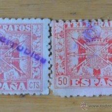 Sellos: 2 SELLOS ESPAÑA FRANQUISMO. . Lote 47799028