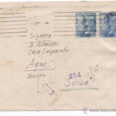 Sellos: CARTA CENSURA GUBERNATIVA DE BARCELONA.. Lote 48334612