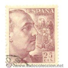 Sellos: 1U-1048. SELLO USADO ESPAÑA. EDIFIL Nº 1048. GENERAL FRANCO. Lote 48611625