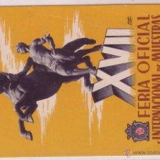 Sellos: F10-37-POSTAL CIRCULADA FERIA MUESTRAS BARCELONA 1949. MADRID.ALEMANIA. Lote 48668387