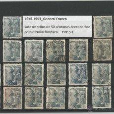 Sellos: 1949-1953 - GENERAL FRANCO. Lote 49341490