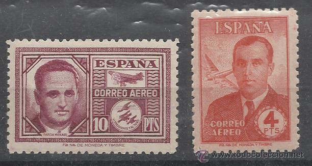 PRIMER CENTENARIO SERIE NUEVA PERFECTA DE HAYA Y GARCIA MORATO (Sellos - España - Estado Español - De 1.936 a 1.949 - Nuevos)