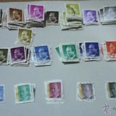 Sellos: LOTE DE SELLOS DEL REY USADOS - TAMAÑO PEQUEÑO.. Lote 50104596
