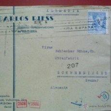 Sellos: CARTA CON SELLO Nº 956, CON DOBLE CENSURA.. Lote 50201723