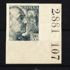 Sellos: 1940 - 1945 FRANCO EDIFIL 927S** MNH. Lote 50664546