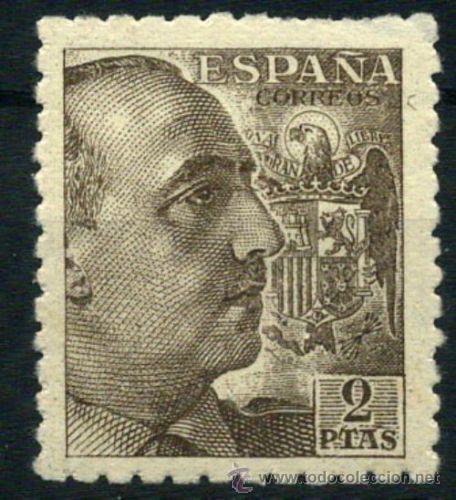 1940-1945 FRANCO EDIFIL 923** BIEN CENTRADO VC 19,00€ (Sellos - España - Estado Español - De 1.936 a 1.949 - Nuevos)
