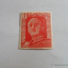 Sellos: VV - SELLO DE 1 PESETA SERIE EL CID Y GENERAL FRANCO Nº 1060S ESPAÑA 1949 ¡ERROR! LEER DESCRIPCION. Lote 50772894