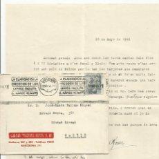Sellos: CIRCULADA 1946 DE BARCELONA A MADRID. Lote 51013897