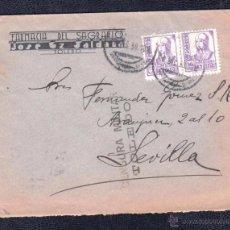 Sellos: 1939.- TOLEDO A SEVILLA. Lote 52777994