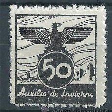 Sellos: R6/ VIÑETA AUXILIO DE INVIERNO 1936, GÀLVEZ Nº 5 NUEVO**. Lote 53322190