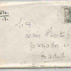 Sellos: SOBRE Y CARTA. PLASENCIA, CÁCERES. MADRID.7 DE OCTUBRE DE 1945.. Lote 53567267