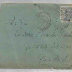 Sellos: SOBRE Y CARTA. PLASENCIA, CÁCERES. MADRID.23 DE JULIO DE 1951.. Lote 53567324