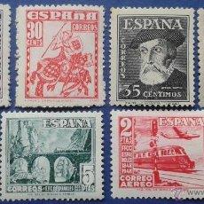 Sellos: 6 SELLOS, NUEVOS, ESPAÑA, AÑO 1948. Lote 53742274
