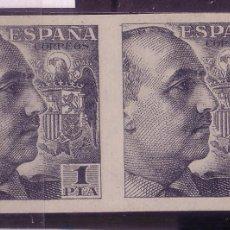 Briefmarken - CL3-37-FRANCO 1 Pta Pareja Sin dentar LUJO - 54271845