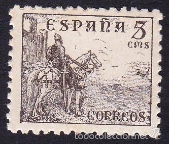 EDIFIL 916 CIFRAS Y EL CID/1940 (Sellos - España - Estado Español - De 1.936 a 1.949 - Nuevos)