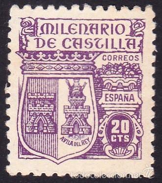 EDIFIL 980 MILENARIO DE CASTILLA/1944 (Sellos - España - Estado Español - De 1.936 a 1.949 - Nuevos)
