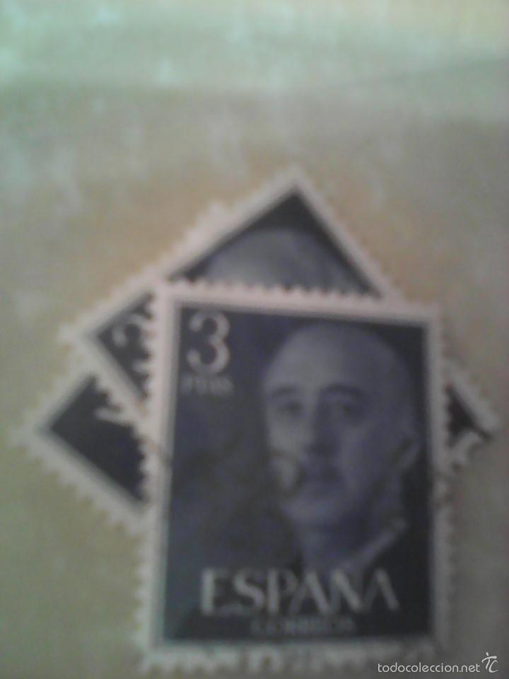 3 SELLOS FRANCO 3PTAS (Sellos - España - Estado Español - De 1.936 a 1.949 - Usados)