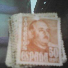 Sellos: 73 SELLOS 50 CENTS FRANCO. Lote 56528570