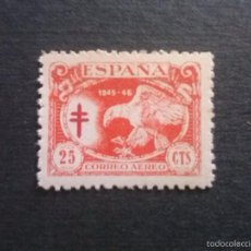Sellos: EDIFIL 997 ** PRO TUBERCULOSOS 1945-46 ÁGUILA. Lote 56886593