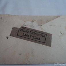 Sellos: SOBRE DE CARTA CENSURA GUBERNATIVA AÑOS 40 LISBOA SELLOS DE PORTUGAL. Lote 57016499