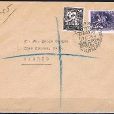 Sellos: 1947.- BARCELONA A MADRID. Lote 57605319
