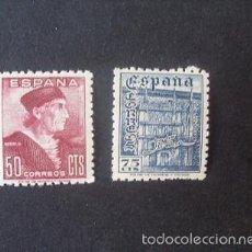 Timbres: ESPAÑA 1946,FIESTA HISPANIDAD,EDIFIL 1002-1003**,NUEVOS,GOMA, SIN FIJASELLOS,(LOTE RY). Lote 58211755