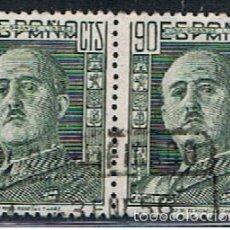 Timbres: ESPAÑA // EDIFIL 1060 X 2 UNIDOS // 1949 ... USADOS. Lote 58257752