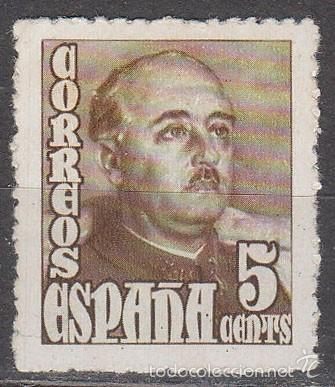 EDIFIL 1020, GENERAL FRANCO, NUEVO *** (Sellos - España - Estado Español - De 1.936 a 1.949 - Nuevos)