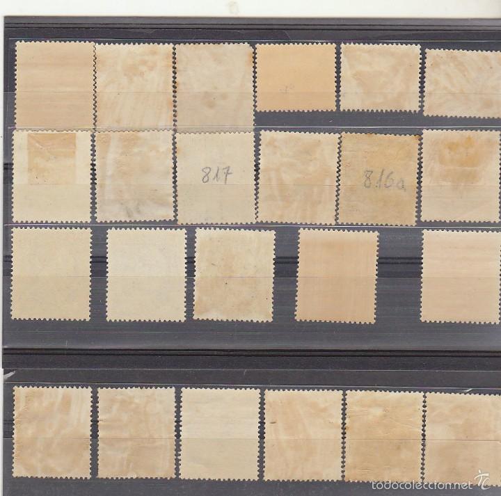 Sellos: x 1044/61 CID y GENERAL FRANCO 1949/53 (18 V + 5 VARIEDADES) - Foto 2 - 58374970