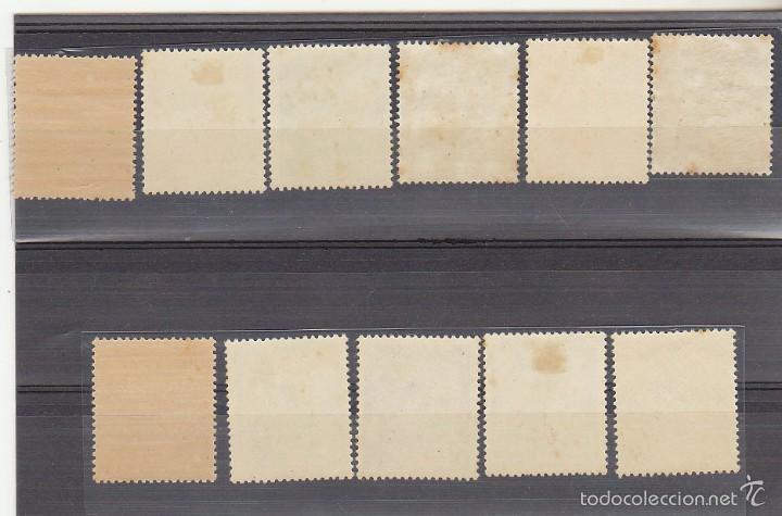 Sellos: x 1024/32 GENERAL FRANCO y CASTILLO DE LA MOTA 1948/54. ( + 1v..variedad) - Foto 2 - 58376079