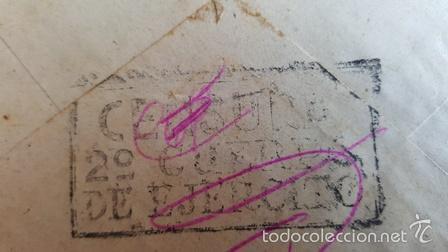 Sellos: ANTIGUO SOBRE CORREO CAMPAÑA DEL 31 JULIO 1938 .C . N º 2 .A - CENSURA 2ºCUERPO EJERCITO - Foto 2 - 58408778