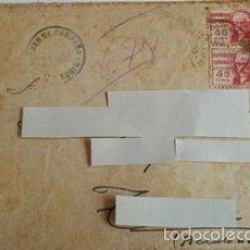 Sellos: ANTIGUO SOBRE CORREO CAMPAÑA DEL 6 AGOSTO 1938 -DIVISON DE TURIA -. Lote 58408882