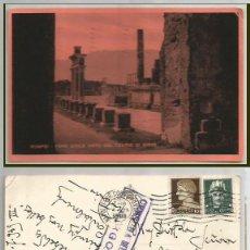 Sellos: POMPEI. FORO CIVILE. CENSURA MILITAR BURGOS 1949.. Lote 59046715