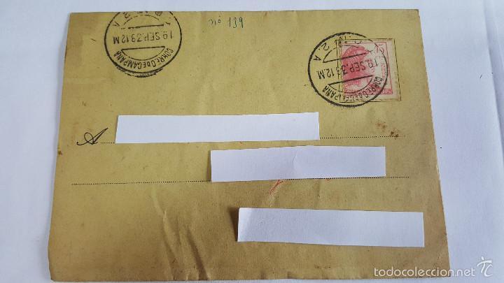 ANTIGUO SOBRE CORREO CAMPAÑA DEL 19 SEPTIEMBRE 1933-C.C. Nº 2 A - (Sellos - España - Estado Español - De 1.936 a 1.949 - Usados)