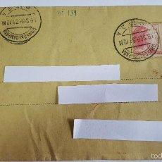 Sellos: ANTIGUO SOBRE CORREO CAMPAÑA DEL 19 SEPTIEMBRE 1933-C.C. Nº 2 A -. Lote 59058355