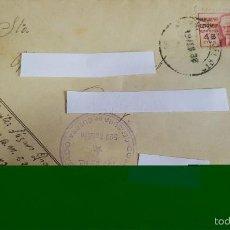 Sellos: ANTIGUO SOBRE CORREO CAMPAÑA 132 BDA MTA COMISARIO DELEGADO - CENSURA GUERRA -Nº 528-. Lote 59063770