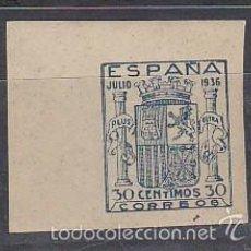 Sellos: XX NE 56 ESTADO ESPAÑOL 1936. Lote 61056111