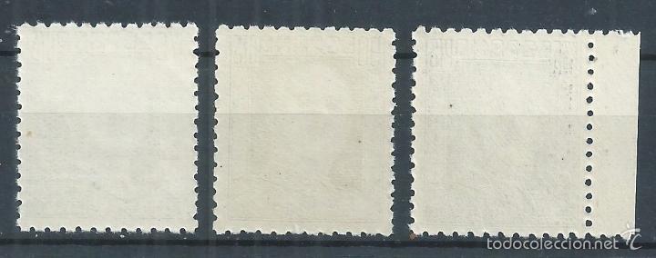 Sellos: R10.G4/ ESPAÑA 1946/47, GENERAL FRANCO, CAT. 20,75€, EDF. 999/1001, NUEVOS** - Foto 2 - 61073527