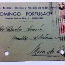 Sellos: DOCUMENTO DE CARGO DE LETRA CON SELLO (Z). Lote 61573264