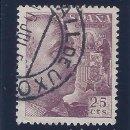 Sellos: EDIFIL 1048A GENERAL FRANCO 1950. MATASELLOS VALL DE UXÓ (CASTELLÓN). VALOR CATÁLOGO: 107 €.. Lote 64712895